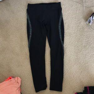 Black workout leggings.